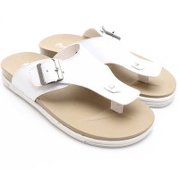 Dr. Kevin Men Sandals 17195 White