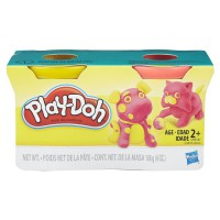 PLAY-DOH 2-Pack Pink and Yellow