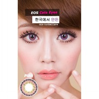 New Original Softlens Eos Cat Eyes Pink (Merah Muda) -Original 100%-Terlaris