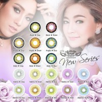 New Ori Promo Dreamcolor Dreamcon Albertine Softlense Soflens Softlens -Original 100%-Terlaris