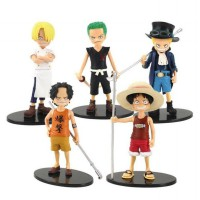 CR-BS05 Action Figure-Luffy, Zoro, Sanji, Ace, Sabo