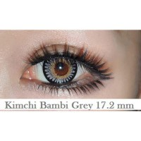 New Original Softlens Eos A3 Bambi Gray (Abu-Abu) -Original 100%-Terlaris