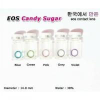 New Original Softlens Eos Candy Sugar Brown (Coklat) -Original 100%-Terlaris