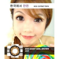 New Eos Softlens Sassy Girl 14,8 Mm -Original 100%-Terlaris