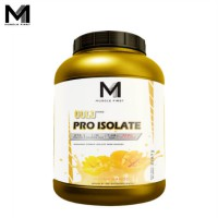 Muscle First Gold Pro Isolate 5 Lbs Indian Mango - lb banana bubuk fit fitness gym M1 musclefirst protein supplement suplemen susu taro whey