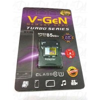 V-Gen Micro SD 32 GB Turbo Calss 10 85 Mb/s Adapter