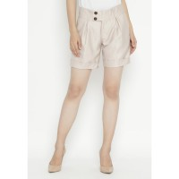 Mobile Power Ladies  Short Pants - Khaki OK30067