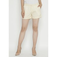 Mobile Power Ladies Short Pants Printing - Crem OK30072