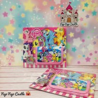 Set Jam Tangan + Dompet Anak - Anak My Little Pony