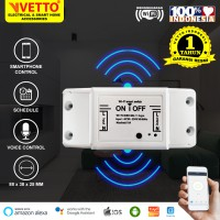 VETTO Smart BREAKER ON OFF Switch Wireless IoT Home Automation