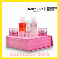 Baby Pink 1 SET Whitening Sensitive Series Skincare Bpom 100% halal