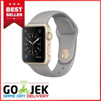 Apple Watch 2 Series 1 - 38mm Gold Aluminum Case with Concrete Sport Band - Garansi Resmi Apple