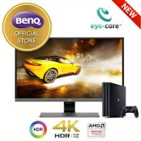 BenQ EW3270U 4K UHD HDR 32 inch Best for PS4 Pro, Video Streaming HDMI, DP, USB-C Ports LED Gaming Eye Care Monitor