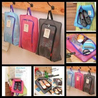 Tas Sepatu Korea Waterpoof Travel Shoe Pouch Organizer Bag
