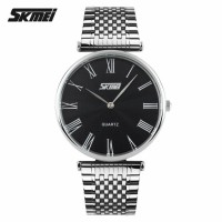 SKMEI Casual Stainless Strap Watch Water Resistant 30m - 9105CS