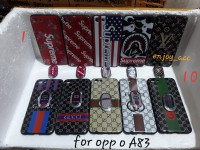 case casing silicon glosy branded plus iring Oppo A83