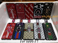 case casing silicon glosy branded plus iring Oppo F7