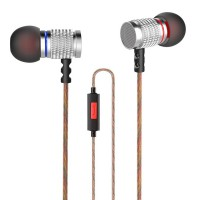 Knowledge Zenith In-Ear Earphones  With Mic - Kz-Edr2 - Silver Termurah09