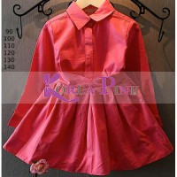 baju mini dress berkerah sc-15873