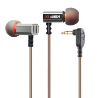 Knowledge Zenith In-Ear Earphones 35Mm With Mic - Kz-Ed9 - Black Termurah09