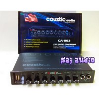 Parametric Equalizer Pream Coustic Audio Ca-803 Mixer Karaoke Ready Termurah09