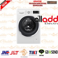 MESIN CUCI LG FC1207S3W FRONT LOADING 7KG