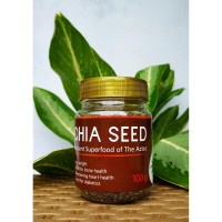Chia Seeds Original 100gr Organic Ancient Superfood of The Aztec