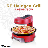 RB BBQ Halogen Grill Manual RH-GP M750 | Memanggang Tanpa Asap
