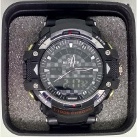 Jam Tangan Mirete Sport Double Time Water Resist