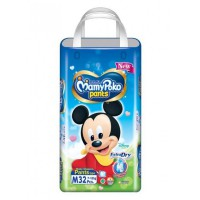 MamyPoko Pants Extra Dry NEW Mickey - M 32