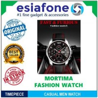 [esiafone new watch] MORTIMA Casual Men Leather Strap Watch WR 30M - Jam Tangan Pria 9106 CL