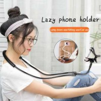 Lazypod Leher dan Pinggang / Holder HP Lazy Hanging Neck Cell Stand
