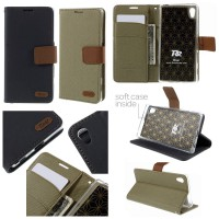 Sony Xperia Z5 - Z5 Dual Roar Full Covered Leather Case Casing Cover