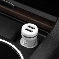 HOCO Z27 Car Charger Dual USB Port Fast Charging Output 2.4A