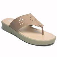 Dr. Kevin Women Flat Sandals 571-544 - Mocca