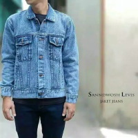 jaket denim sandwash SKU-14