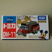 Dream Tomica Takara Tomy Micky Mouse Fire Truck Works Division DM 11