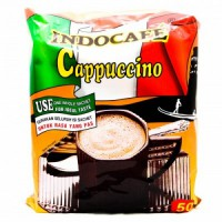 Indocafe Cappucino Bag 50's (1 pack = 50pcs)