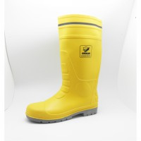 COUGAR Safety Rubber Boot (Steel toe ) Yellow