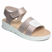 Dr. Kevin Women Flat Sandals 571-548 - Salem/White