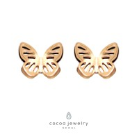 cocoa jewelry Anting Korea - Painted Lady