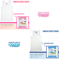Arrow Apple Teens - Singlet Remaja - Boy & Girl - 1 Pcs