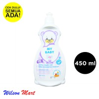 MY BABY BOTTLE NIPPLE AND ACCESSORIES CLEANSER 450 ML BOTOL