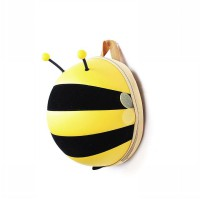 J&J Bags BumbleBee 3D Backpack Yellow