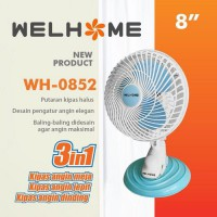 Welhome Kipas Angin 3 In 1 WH - 0852 8inch