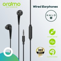 Oraimo Headset / Earphone / Handsfree with Mic 3.5mm IOS/Android E21N