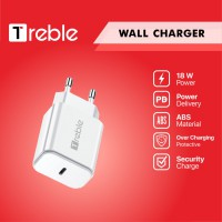 JY X Adaptor Charger TREBLE Type C Fast Charging 18 W - TCG5