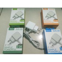 Charger OPPO ORIGINAL REAL 2ampere 2 Port Usb Good Quality