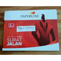 Surat jalan 3 ply paperline