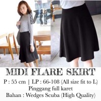 ROK MIDI / MIDI FLARE SKIRT COLLECTION